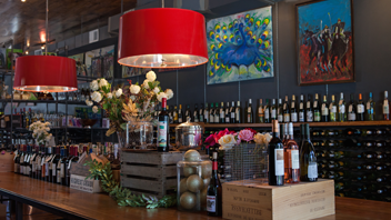 Wine + Market Wine Room