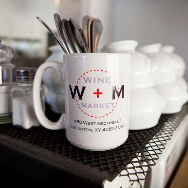 Wine + Market Coffee Mug