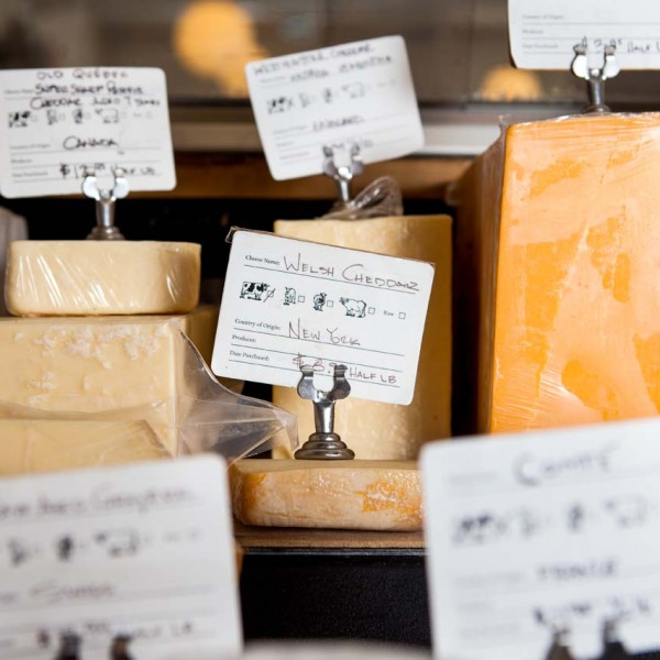 Wine + Market Cheese Case