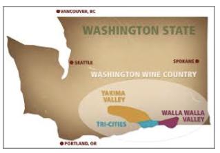 Washington State Wine Region