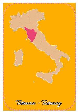 Toscana Tuscany Wine Region