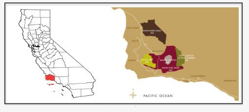 Santa Barbara County Wine Region
