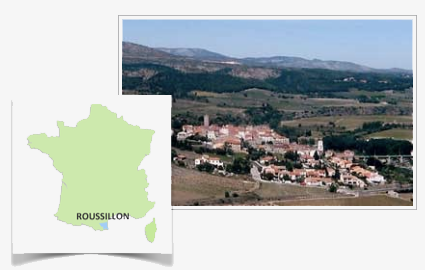 Roussillon Region of Southern France