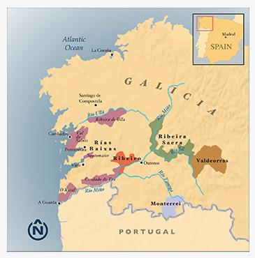 Galicia Wine Region